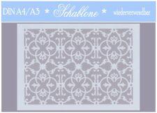 Schablone-Vintage-Shabby-A4-A3-ORNAMENT-ARABISCH-ORIENT-7101