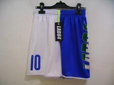 Lab84 Costume Pantaloncino Dryfit SHTU1008FLAG Italia Blu Bianco