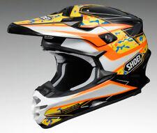 Shoei Vfx-W Turmoil TC8 Naranja Motocross Mx Race Spec