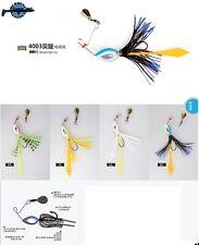 Leurre mini spinner bait Micro Spinnerbait XTS 6gr pêche perch truite blackbass