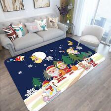 3D Christmas Xmas Elf Family 13 Non Slip Rug Mat Room Mat Quality Elegant Carpet