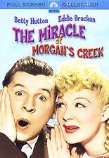 The Miracle of Morgan's Creek (DVD, 1944 Release, B&W, Full Screen) RARE DVD!