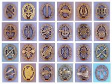 NEU BW Barettabzeichen Abzeichen Metallabzeichen Bundeswehr Militärabzeichen