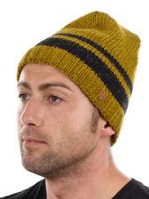 CMP Beanie Strickmütze Skimütze gelb Streifen Fleece klassisch warm