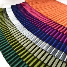 Wide Velvet Pleuche Pleated Trimming Ribbon Fringe Dress Curtains Diy 18cmX1m