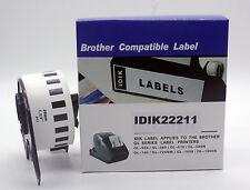 Compatible Brother DK-22211 DK2211 White Film Label 29mm*15.24 Meter