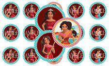 15 Pre-Cut Elena Of Avalor 1 Inch Bottle Cap Images (3 Options)