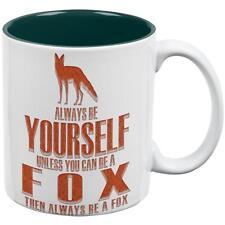 Always Be Yourself Fox All Over Coffee Mug