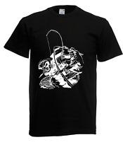 Herren T-Shirt Angler I Fisch I Sprüche I Fun I Lustig bis 5XL