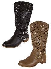 MTNG Mustang Womens 58406 Diamond Cutout Boot Shoes
