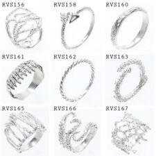 RVS155-RVS167 925 Sterling Silver Ring Fine Art Handmade Jewelry Size7-9