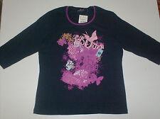 HS Fashion deportiva Mujer Camiseta T-Shirt 3/4 Pobre Algodón 3015