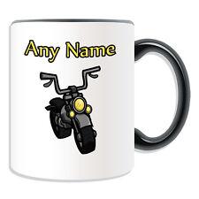 Personalised Gift Motorcycle Mug Money Box Motorbike Motorcycling Race Rider Cup