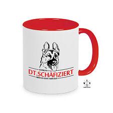 Tasse Kaffeebecher INFIZIERT DT. SCHÄFERHUND DT.SCHÄFIZIERT Hunde Siviwonder