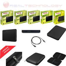 HARD DISK ESTERNO 2,5 USB 3.0 500GB-1TB-2TB-3TB-4TB TOSHIBA CANVIOB 2018/CUSTODI