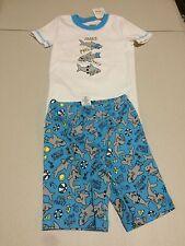 NWT Gymboree Boys Gymmies Pajamas set Shark Shortie 12-18,18-24M 2T,6,7,8,10
