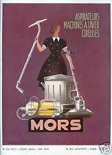 1950 Publicité Electro-Ménager MORS - Emmanuel Poirier