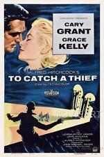 Pour attraper un voleur hitchcock vintage movie poster affiche film A4 A3 art print cinema