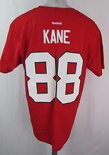 Chicago Blackhawks Men's M #88 Kane Player T Shirt Red NHL Reebok Flawed A12