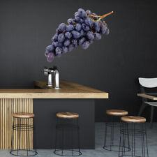 Zwarte druiven Vers fruit Muursticker WS-46659