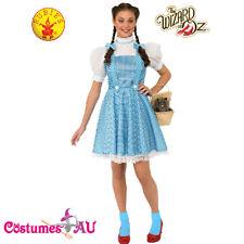 Ladies The Wizard of Oz Dorothy Costume Deluxe Book Week Teens Fancy Dress