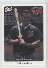 1996 Best Hardware City Rock Cats #5 Bill Sandillo Rookie Baseball Card
