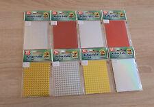 (1,10€/Stück) - Reflex Folie - verschiedene Farben / Muster - je 2 Stück