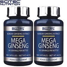 MEGA Ginseng 100-300 Capsule Korean Energy Boost salute sessuale supporto immunitario