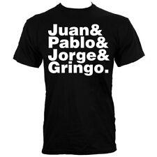 Juan & Pablo & Jorge & gringo para hombre Negro T-Shirt