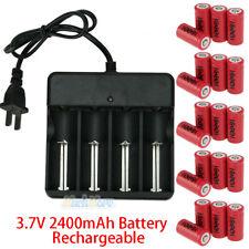 20Pcs CR123A 3.7V Li-Ion Rechargeable Batteries for Netgear Arlo Security Camera