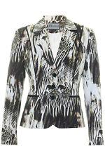 Busy Ladies Pattern Jacket Blazer