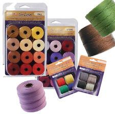 Super-lon #18 Nylon Cord Stringing Beading Crochet Micro-macram Jewelry S-lon