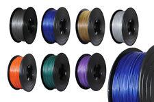 3D Imprimante 1kg métallique Filament ROULEAU PLA 1,75mm or vert violet argent