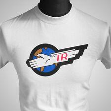 Thunderbirds Retro TV Series T Shirt Cool 60's 70's Vintage Tee Sci Fi