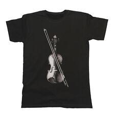 Violin Violinist Instrumento Camiseta Hombres Mujer Unisexo Musica