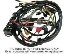 65 Mustang Main Underdash Wiring Harness w/ Warning Lamps & 2 Speed Heater