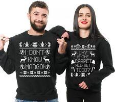 Christmas Sweaters Couple Matching Margo Todd Ugly Christmas Unisex Sweatshirts