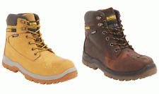 New Dewalt Titanium Leather Workwear Shoe Boot Steel Toe Cap