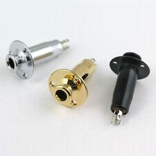 """Cylinder flange mono input jack socket 1/4"""" (6.35mm) E31"""