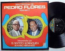 EL SEXTETO BORINQUEN Las Canciones de Pedro Flores LP