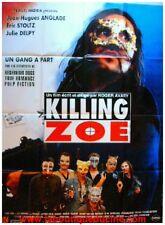 KILLING ZOE Affiche Ciné / Movie Poster ANGLADE STOLTZ