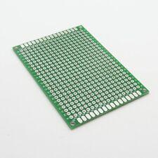 Circuito Universale Scheda PCB lato singolo 8x8cm Fibra-Vetro Stripboard 2.54mm T50