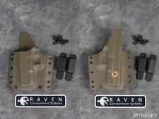 Left-Hand Raven Concealment Phantom Modular Ranger Green Full Shield Holster