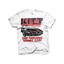 Knight Rider con licencia oficial-Kitt El Original Smart Car para hombre Camiseta