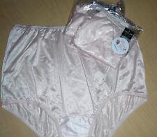 3 PINK Vanity Fair Soft Nylon Ravissant Tailored Brief 15712 Panty 5 6 7 8 9 NWT
