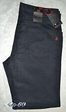 Pantalone uomo jeans cotone 46 48 50 52 54 56 58 60 62 economico blu EUROPEAN