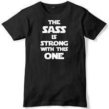 El Sass es fuerte con esta camiseta Unisex Para Hombre Divertido