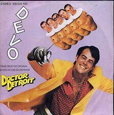 7inch DEVO doctor detroit GERMANY 1983 +PS EX
