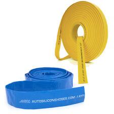 Azul Amarillo Layflat tuberías de PVC Manguera De Agua Bomba endecha plana riego de descarga