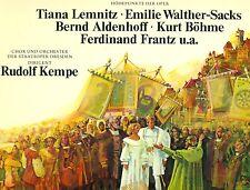 WAGNER DIE MEISTERSINGER DE NURENBERG LEMNITZ BOLSA WALTHER KEMPE hacer LP L8945